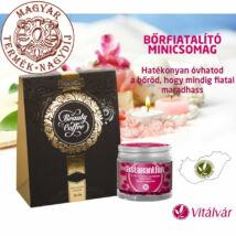 Bőrfiatalító minicsomag - Kollagént tartalmazó instant arabica kávét tartalmazó Beuty Coffee kávékülönlegességgel valamint E és C-vitamint tartalmazó Astaxanthinnal